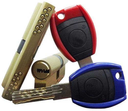 Exterior Timber Steel Plastic Door Cylinder Lock (AMCH-2)