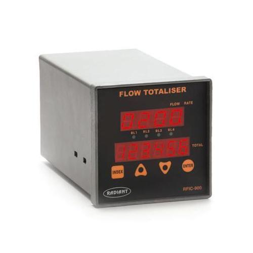 Flow Totaliser With Digital Display