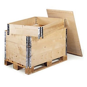 Heavy Duty Large Stackable Foldable Collapsible Pallet Boxes