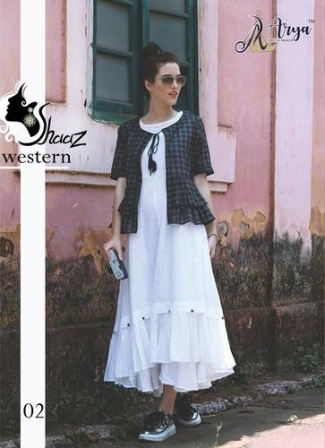 Digital Print Shaaz Western Kurti