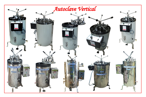 High Performance Vertical Autoclave