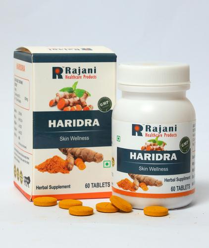 Rajani Haridra Tablets For Skin Wellness