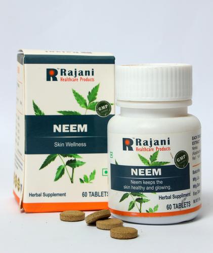 Rajani Neem Tablets For Skin Wellness