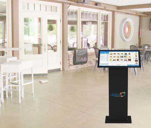 Vertical Touch Screen Kiosk