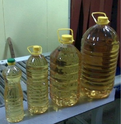 Light Yellow Refined Sunflower Cooking Oil