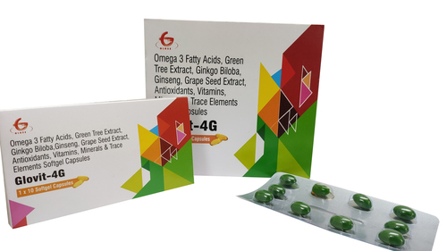 Glovit 4g Softgel Capsules