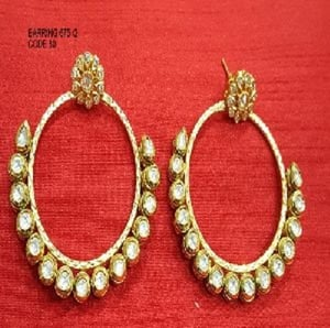Indian Traditional Bridal Jewellery Earrings