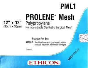 PML1 PROLENE Non-Absorbable Synthetic Surgical Mesh
