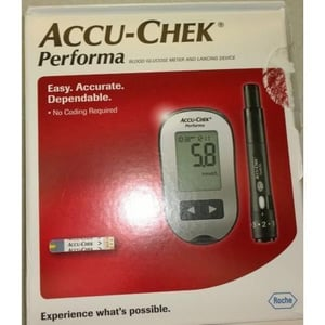 Roche Accu-Chek Performa Blood Glucose Meter and Lancing Device