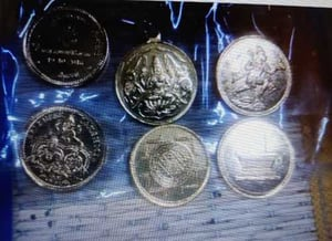 Round Shaped Copper Coins