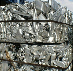 Aluminum 6063 Sections Scrap for Melting