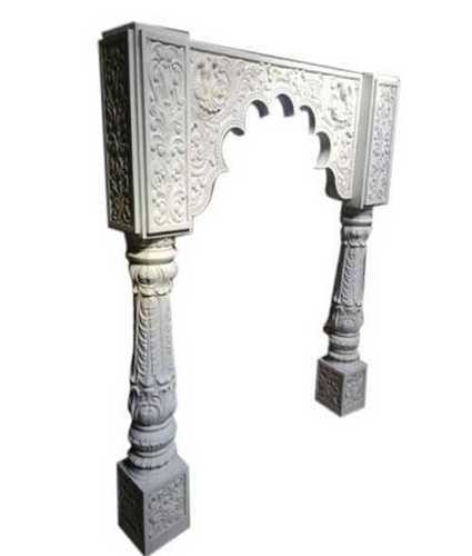 Off White Frp Temple Pillar
