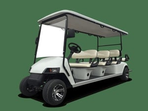 Battery Operated 8 Seater Electric Golf Cart