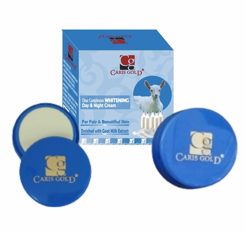 Caris Gold Goat Milk Extract Whitening Cream 4g