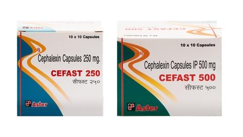 Cephalexin 250/ 500 Mg Capsules
