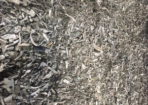 LMS Shredded Scrap for Recycling