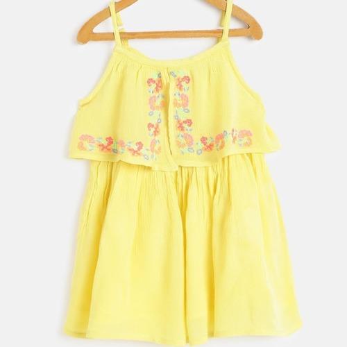 Sleeveless Kids Summer Wear