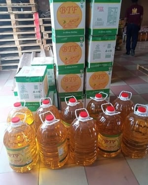 Vegetable Palm Cooking Oil 5 Liters