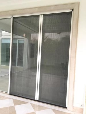 Pleated Mesh Insect Screen