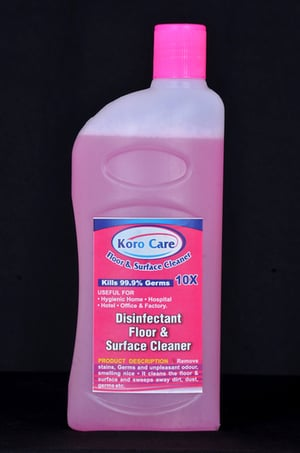 Koro Care Disinfectant Floor And Surface Cleaner