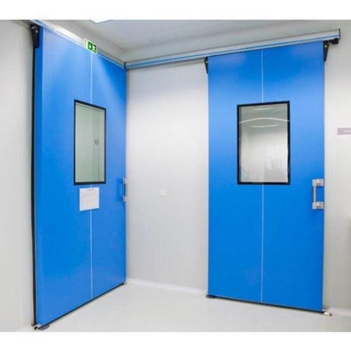 Blue Color Clean Room Doors