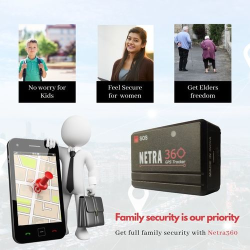 Personal Tracker With 3 Days Battery Backup Dimensions: 5.5 * 3.3 * 2  Centimeter (Cm)