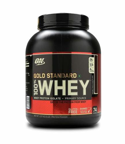 On Gold Standard Whey Protein Powder Certifications: Na