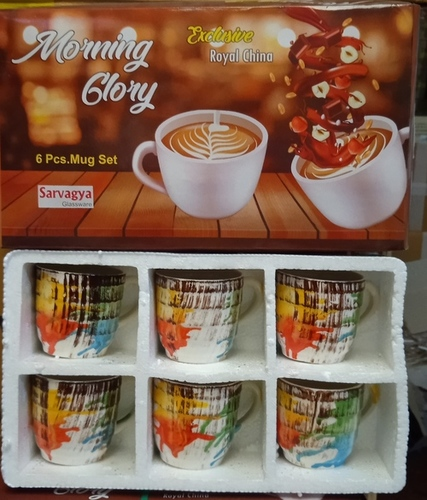 6 Pcs. Tea Cup Set