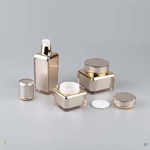 Fine Finish Cosmetic Packaging Container