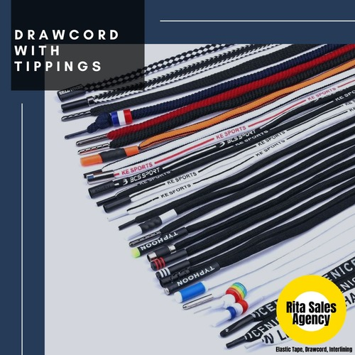 High Strength Garment Drawcord With Tipping Certifications: Okio Tex