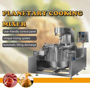 Commercial Cooking Jacketed Kettle