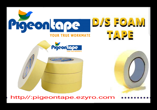 White Pigeontape D/S Foam Tape