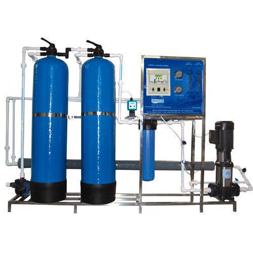 Blue Color Water Purification Plants