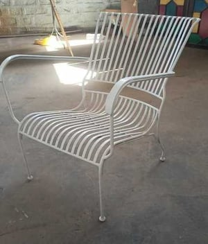 Iron Outdoor Chair