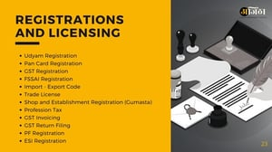 Registration and Licensing Services