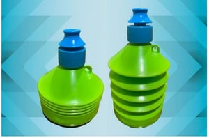 Plastic Collapsible Drinking Water Bottle