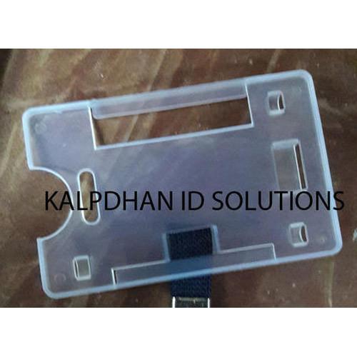 Semi Transparent ID Card Holder