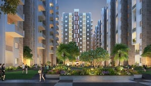 Ambience Courtyard Residential Flat