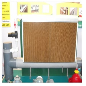Industrial Evaporative Cooling Pad