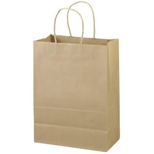 Loop Carry Bags (Kraft And White)