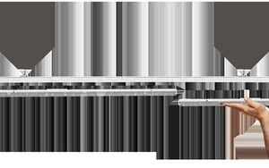 N Line-IP54 LED Linear Trunking System