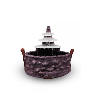 Stone Look Shell Shaped Water Fountain