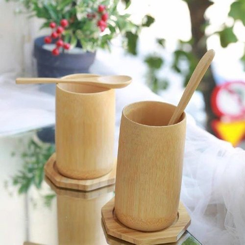 100% Vietnamese Bamboo Cup