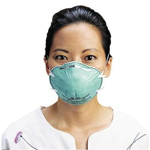3M 1860 N95 NIOSH Particulate Respirator and Surgical Mask