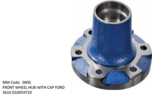 Front Wheel Hub With Cap
