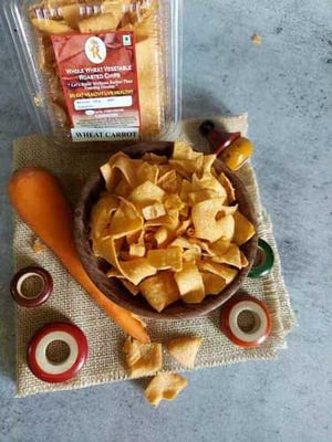 Wheat Roasted Carrot Chips