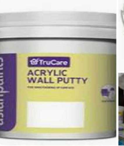 Buy Asian Paints Acrylic Wall Putty White 5 Kg Industrykart Com