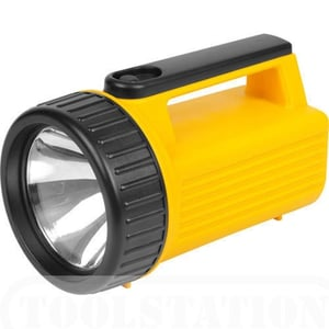 Portable Yellow Bright LED Hand Torch