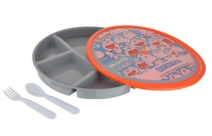 LB911 - Happy Lunch Plate - 1080ml