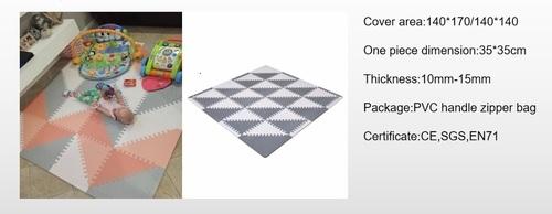 Eva Foam Jigsaw Triangle Puzzle Mat For Kids